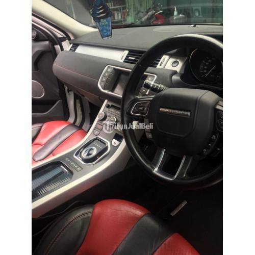 Mobil SUV Range Rover Evoque Dynamic Luxury SI4 2013 Matic Bekas Harga Nego - Denpasar