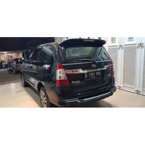 Mobil MPV Toyota Kijang Innova G Manual 2014 Bekas Surat Lengkap - Jakarta