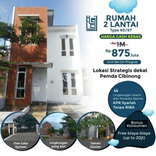 Rumah Baru Siap Huni Tersisa 4 Unit Berlokasi Strategis di Pusat Kota Cibinong Bogor