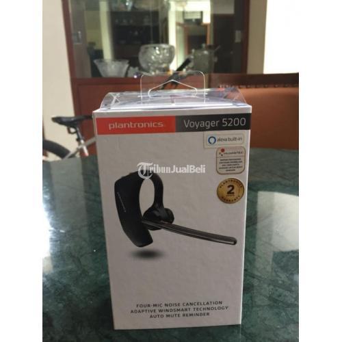 Headset Bluetooth Plantronics Voyager 5200 Baru Fullset Harga Nego - Bekasi