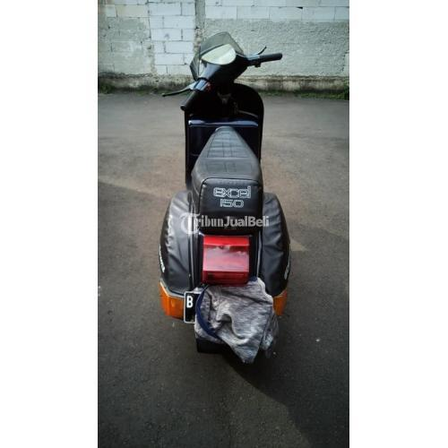 Motor Vespa Excel 1997 Surat Lengkap Bekas Mesin Normal Mulus - Jakarta Pusat