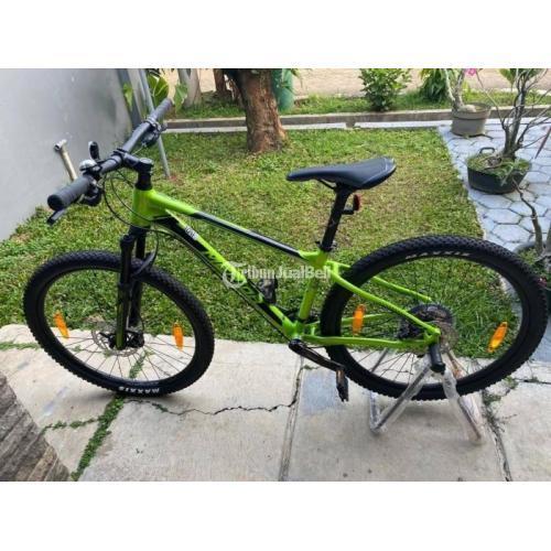 Sepeda MTB Merida BS 500 Warna Hijau Neon Bekas Harga Nego - Jakarta Timur
