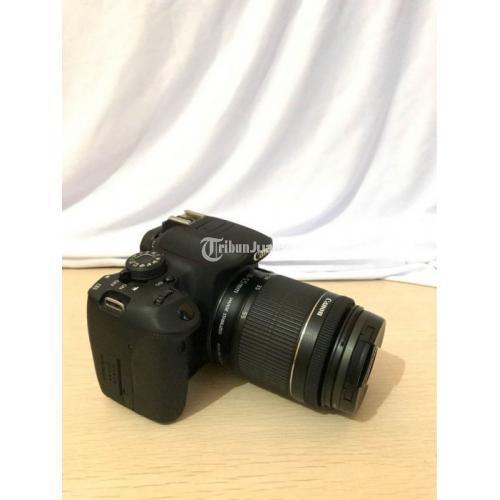 Kamera Canon 700D Lensa Kit STM 18-55mm Filter UV Touchscreen Bekas - Kudus