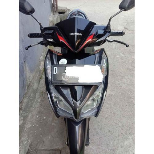 Motor Honda Vario techno 125 2014 Bekas Full Orisinil Surat Lengkap - Bandung