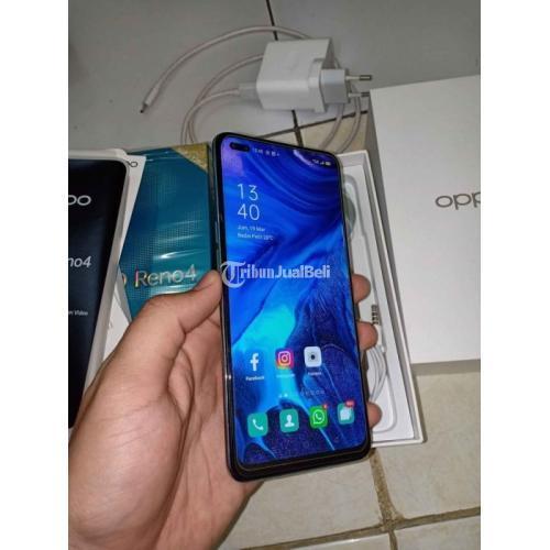 HP Oppo Reno 4 Ram 8/128Gb Fast Chargering Fullset Bekas Harga Nego - Bandung