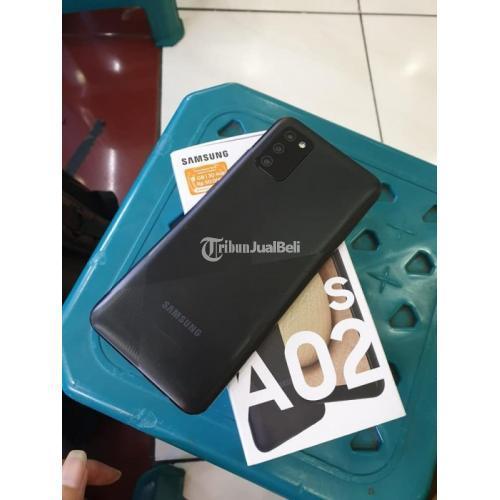 HP Samsung A02s Ram 4/ 64Gb Fullset Bekas Fungsi Normal Mulus - Semarang