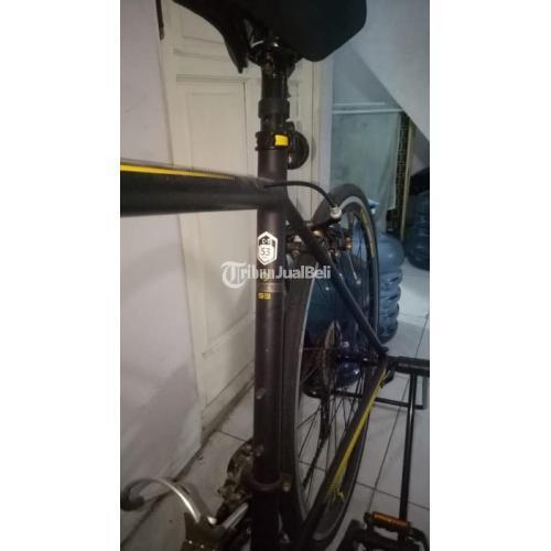 Sepeda Road Polygon Stratos S3 Bekas Fungsi Normal Bonus Padock - Bekasi