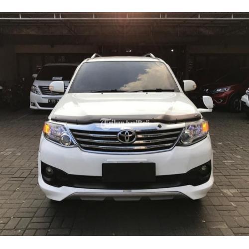 Mobil Toyota Fortuner  TRD Sportivo  2.5 diesel  AT  2012 Bekas Pajak Panjang - Trengalek