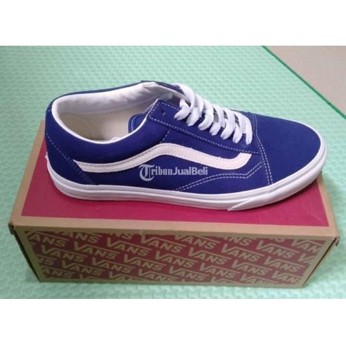 Sepatu Vans Old Skool Suede Blueprint BNIB Resmi PT Navya Ukuran 41 - Surabaya