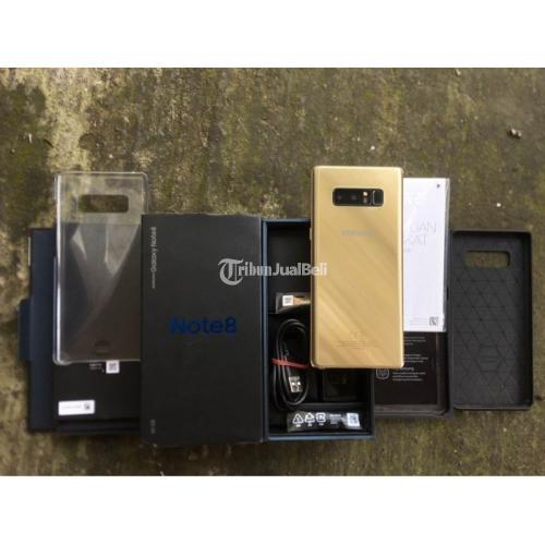 HP Samsung Note 8 Fullset Dual Sim Bekas Mulus No Minus - Denpasar