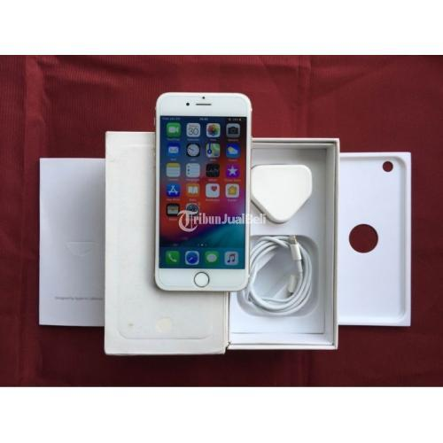 HP iPhone 6 128Gb Gold Fullset Bekas Kamera Normal Baterai Awet - Denpasar