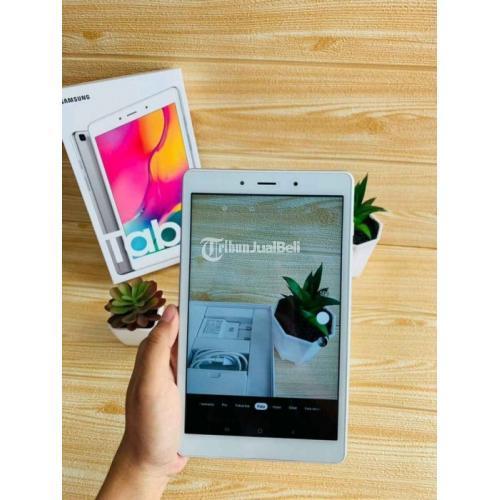Samsung Tab A8 2019 Fullset Bekas Mulus NMinus Garansi 1 Bulan - Denpasar