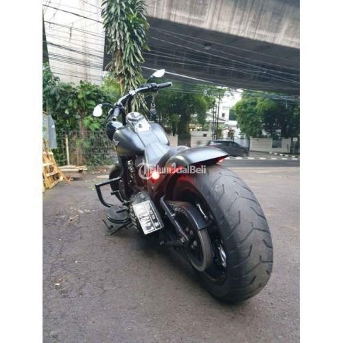 Moge Harley Devidson Softail Fatboy 2013 Bekas Low KM Pajak Panjang - Jakarta