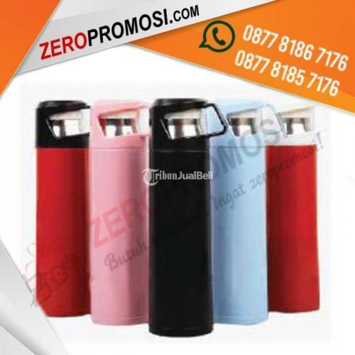 Souvenir Thermos Vacuum Tumbler dengan Cup kode TC-213 - Tangerang