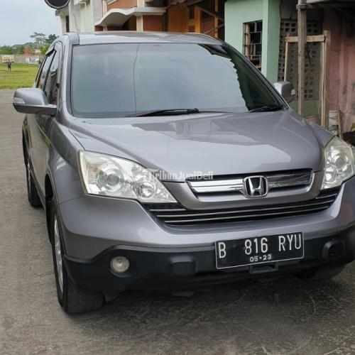 Mobil SUV Honda CRV 2.4 Automatic 2008 Bekas Siap Pakai Surat Lengkap - Jogja