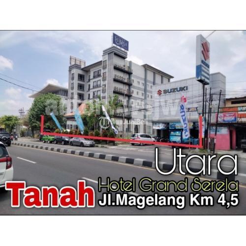 Dijual Tanah Utara Hotel GRAND SERELA, Jl Magelang-Dekat Liquid-Ufo Elektronik - Sleman