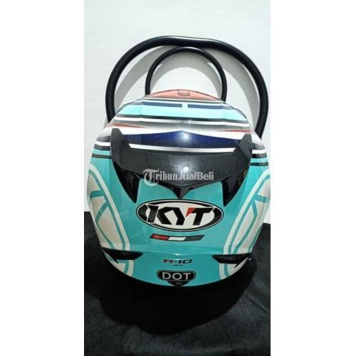 Helm KYT R10 Aquamarine Size M Busa Tebal Bekas Harga Murah - Semarang
