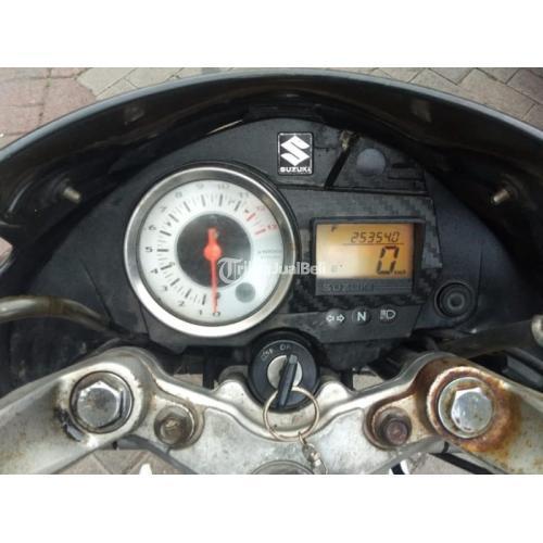 Motor Suzuki Satria FU 2013 Tangan Pertama Bekas Normal Mesin Halus - Surabaya