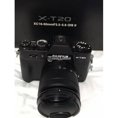 Kamera Fujifilm XT20 Lensa Kit 16-50mm OIS II Ex FFID Fullset Bekas Mulus - Bogor