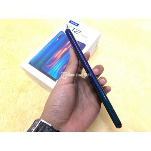 HP Vivo Y12 3/32GB Fullset Bekas Original Kondisi Normal Garansi - Yogayakarta