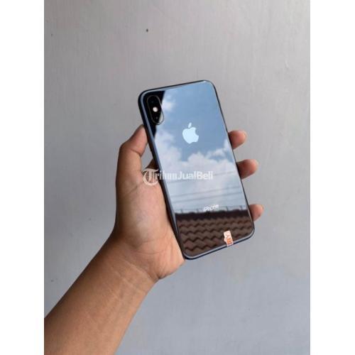 HP iPhone X 64GB Space Grey Baterai 93% Bekas Kondisi Normal Harga Nego - Surabaya