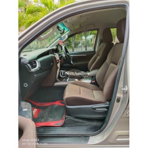 Mobil SUV Toyota Fortuner VRZ G Diesel Turbo 2018 Bekas Orisinil Surat Lengkap - Surabaya