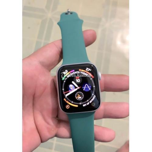 Apple Watch Series 5 Silver 44mm Second Mulus Mesin Normal No Kendala - Jakarta