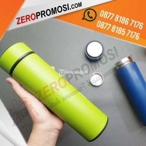 Souvenir Tumbler Vacuum Stainless Sakura Life Promosi - Tangerang