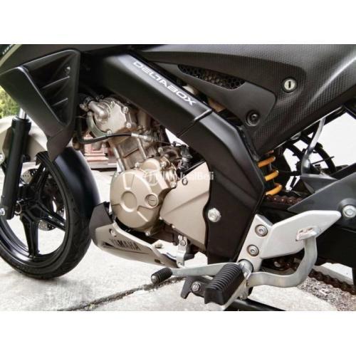 Motor Yamaha VIXION 2017 Surat Lengkap Warna Hitam Bekas Terawat - Karanganyar