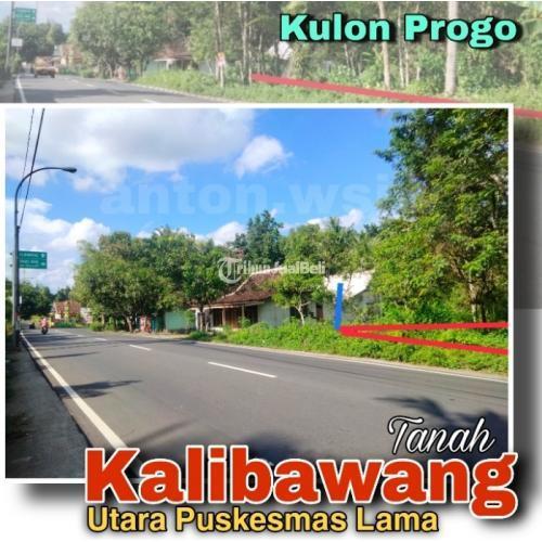 Dijual Tanah KALIBAWANG Jl Raya Nanggulan Mendut, Utara Puskesmas Lama - Kulon Progo