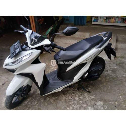 Motor Honda Vario 150 Keyless 2018 Warna Putih Bekas Terawat Harga Nego - Jakarta Timur