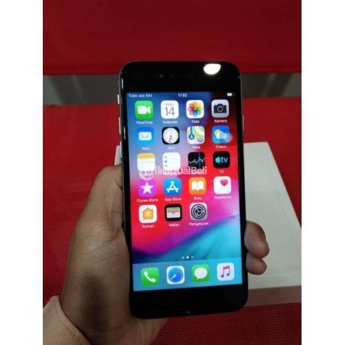 HP iPhone 6 128GB Fullset Warn Hitam Bekas Mulus Garansi Harga Nego - Bandung