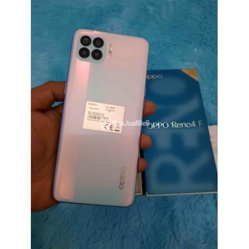 HP Oppo Reno 4F Ram 8/12Gb Bekas Fullset Fungsi Normal No Minus - Denpasar