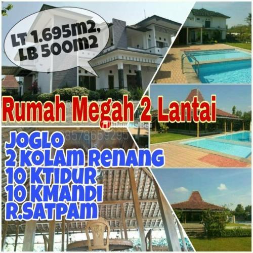 Dijual Rumah Mewah 2 Lantai + Kolam Renang +JOGLO di Maguwoharjo Lt 1695 m2 - Sleman