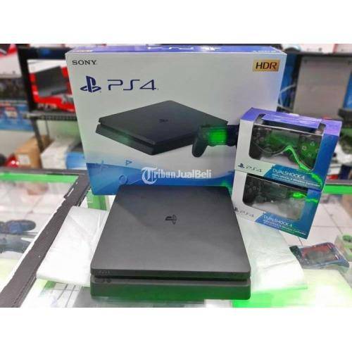 Konsol Sony PS4 Slim 500GB Hen Isi 10 Game Bebas Pilih Second Like New Garansi - Bandung