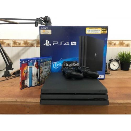 Konsol Game Sony PS4 Pro 1TB Bekas Garansi Resmi Harga Nego - Jogja