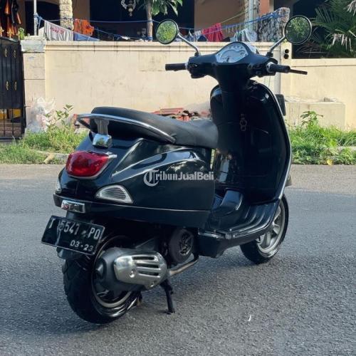 Motor Vespa LX I-Get 2018 Pajak Panjang Mesin Normal Bekas Harga Nego - Jakarta Timur