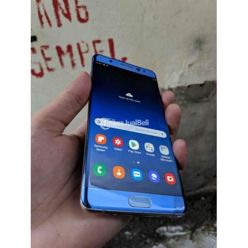HP Samsung Note 7 Ram 4Gb/64Gb Fast Charging Bekas Fullset - Surabaya