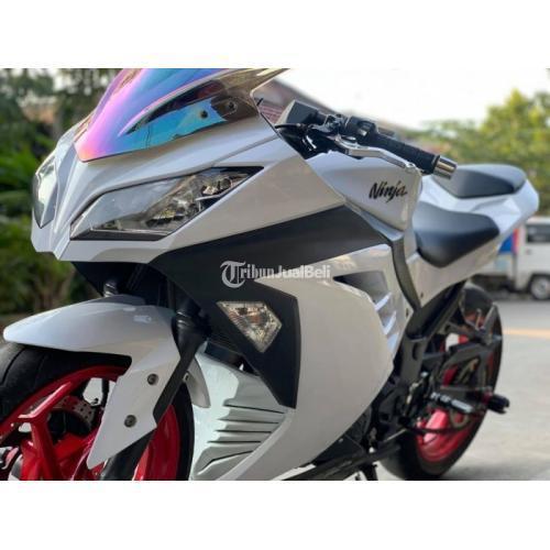 Motor Kawasaki Ninja 250 2013 Bekas Pajak Panjang Mulus Nominus - Semarang