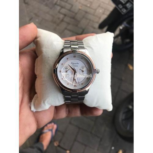 Jam Tangan Alexandre Christie 2844BF 36mm Bekas Like New Normal - Semarang
