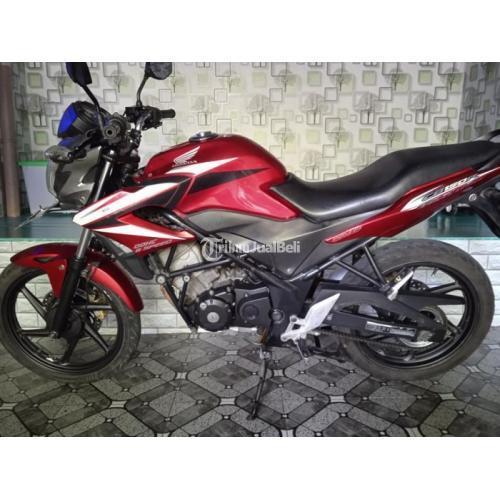 Motor Honda CB150R 2014 Surat Lengkap Body Full Orisinil Bekas Mulus - Depok