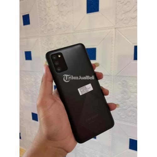 HP Samsung A02s Ram 3Gb/32Gb Fullset Bekas Mulus No Minus Garansi - Semarang