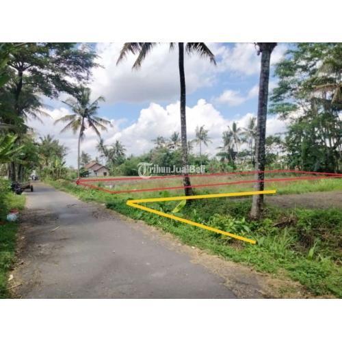 Dijual Tanah Tepi Jl MPR, Barat Jl Kaliurang KM 9,8.Akses Aspal, Asri, Air Melimpah - Sleman