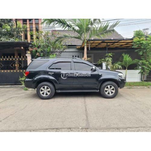 Mobil SUV Toyota Fortuner G AT Bensin 2006 Bekas Tangan1 Sehat Pajak Panjang - Bandung