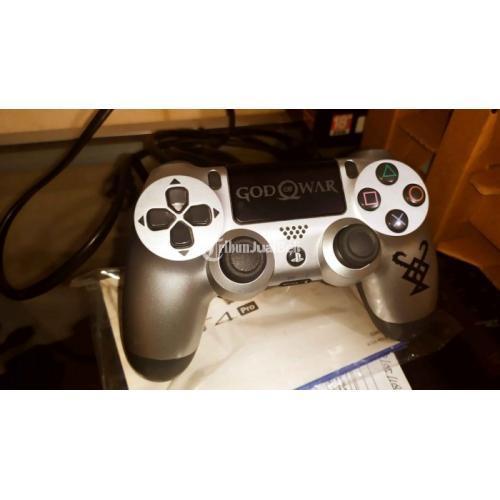Konsol Sony PS4 Pro 1TB God of War Edition Fullgame Fullset Like New - Makassar