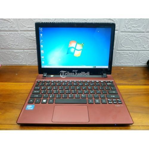 Laptop Acer Aspire V5-131 Ram 4GB Hardisk 50GB Bekas Mulus Normal - Solo