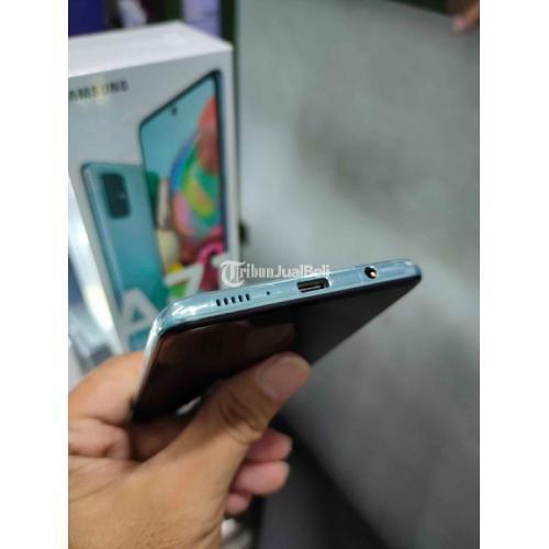 HP Samsung A71 8/128GB Second Fullset Mulus Normal Nominus - Banjarmasin