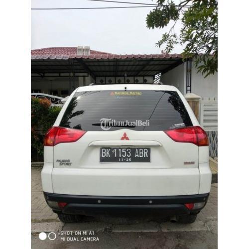 Mobil SUV Mitsubishi Pajero Sport Exceed 2010 Bekas Sehat Surat Lengkap Pajak On - Medan