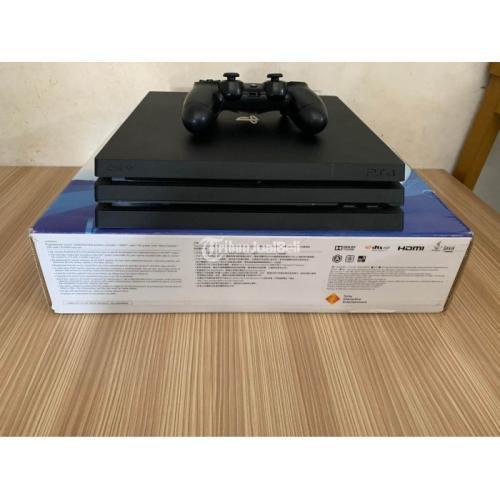 Konsol Sony PS4 Pro HEN 1TB Bekas Like New Full Games Fullset - Samarinda
