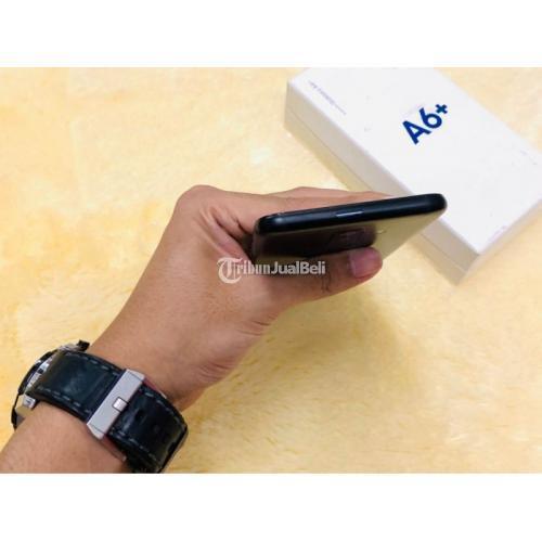 HP Samsung A6 Plus Ram 4GB/32GB Fullset Bekas Mulus No Minus Garansi - Yogyakarta